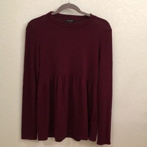 Perfect Condition Roolee Burgundy Top